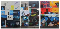 Top Art Exhibition - Painting » NZQA Photo Wall, Logan, Top, Boards, Painting, Park, Planks, Photograph, Painting Art