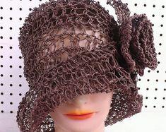 Crochet Pattern Hat Crochet Sun Hat Pattern by strawberrycouture