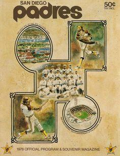 1978 San Diego Padres program
