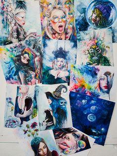 Signed Giclee Mini Prints / Tanya Shatseva