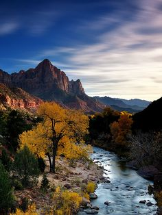 Zion Valley Bridge, Zion National Park, Utah