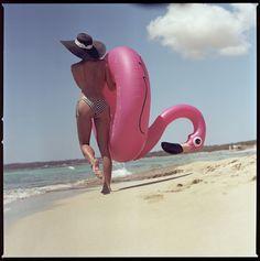 https://flic.kr/p/KAiaae   A girl with a pink flamingo