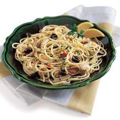spaghetti with broccoli lemon and chilli tuna spaghetti with broccoli ...