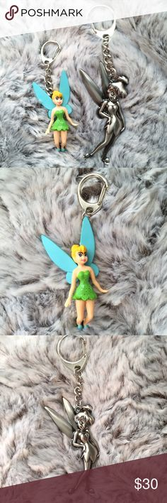Selling this LeSportsac x Disney Tinker Bell Bag Charms on Poshmark! My username is: refineselection. #shopmycloset #poshmark #fashion #shopping #style #forsale #LeSportsac #Handbags