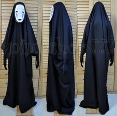 Studio Ghibli Spirited Away Kaonashi No Face Faceless Cosplay Costume Halloween | eBay
