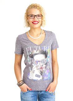 VOLCOM SHOW ME YOUR V NECK T-SHIRT DARK GREY www.fourseasonsclothing.de  #volcom #volcomstone #shirt #t-shirt #new