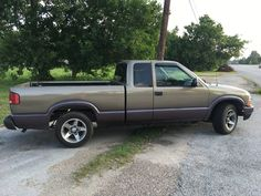 2002 Chevrolet S-10 Blazer Extended Cab