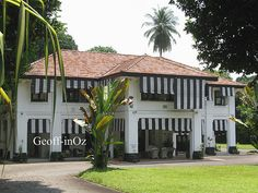 Colonial 'Black and White' House, 4 Cornwall Road, Alexandra Park, Singapore