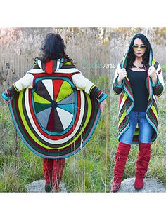 Splendor Circle Coat crochet pattern download from Annie's Craft Store. Order here: https://www.anniescatalog.com/detail.html?prod_id=141238&cat_id=468