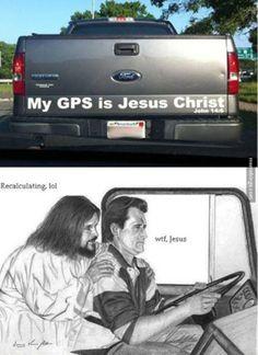 Jesus vs Garmin