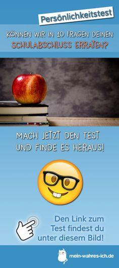 Können wir in 10 Fragen deinen Schulabschluss erraten? Mach jetzt den Test! #meinwahresich #persönlichkeitstest #schule #schulabschluss #abitur #hauptschulabschluss #realschulabschluss #mittlerereife #quiz