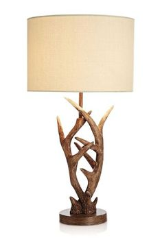 Buy Antler Natural Table Lamp from the Next UK online shop