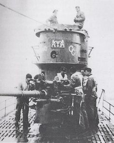 Originally intended as a defensive weapon, the 88mm anti-ship cannon played a useful role in offense as well, where it was often used to sink lone merchants and stragglers. Mounted on most Type VII U-boats, the naval 88mm is totally unrelated to the famous 88mm of the German Army - to such an extent that they could not use the same ammunition.