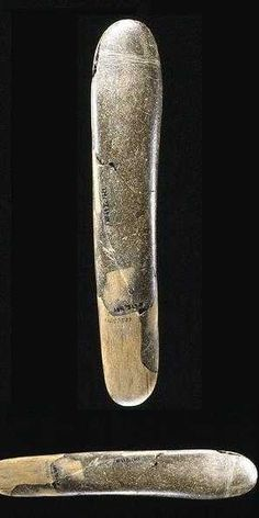 Oooooo my...things have come a long way...World's oldest sex toy found: A 30,000 year old ice age dildo also used for lighting fire!