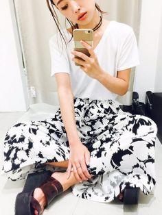 MIHO MIKATA(MURUA本部)|MURUAのTシャツ/カットソーを使ったコーディネート - WEAR