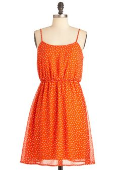 Smoothie Sailing Dress in Straps. Just bought it. There's little mini peaches on it!