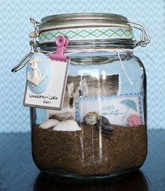 Great idea for collecting memories from travels.