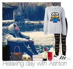"""Relaxing Day With Ashton"" by hazzgirl03 ❤ liked on Polyvore"