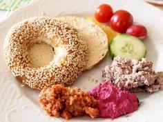 Und so sah Isabel's bunter Teller beim veganen Osterbrunch aus