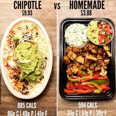 Chipotle vs Do-it-yourself Rooster Burrito Bowls. Chipotle has at all times been my go tos once I'm in a pinch a Burrito Bowl Meal Prep, Lunch Meal Prep, Burrito Bowls, Chipotle Burrito Bowl, Taco Bowls, Healthy Snacks, Healthy Eating, How To Eat Healthy, Healthy Cheap Meals