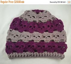 summer sale assorted colors skulls slouchy hat made to order crochet skull slouch hat