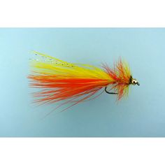 yellow dancer fly | Fire Dancer - Trout Lures - Trout Flies
