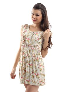 Casual Floral Summer Dresses For Teenagers