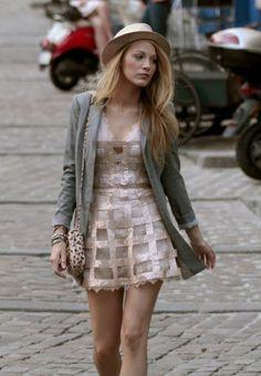 Dress: Georges Chakra                                Coat: Rag & Bone                                          Bag: See by Chloe                                      Hat: 76 Trombone                                             Shoes: J.Crew
