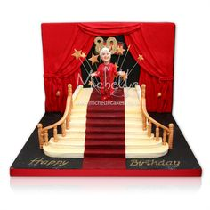 Celebrate aging!  Fun Hollywood-style cake