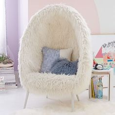 Create a comfy hangout space with Pottery Barn Teen's lounge seating and teen lounge chairs. Shop teen room chairs in many styles, and colors.