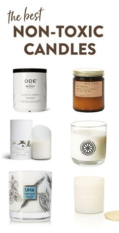 The Best Non-Toxic Candles [Yes! Candles Can be Toxic]From wax to wicks to fragrance, candles can actually be quite toxic. Here is a list of what to look for in your candles and the best non-toxic candles. #nontoxicliving