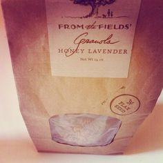 honey lavender granola!