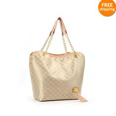 New Handbag Designer Fashion Chic Ladies' Golden and Beige Color Beige Color, Colour, New Handbags, Cool Hats, Golden Color, Lady, Valentine Gifts, Baby Items, New Fashion