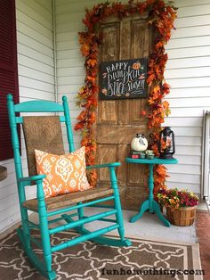 Fall Front Porch -- Fun Home Things