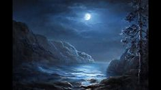 Do you enjoy night-time scenes with the moon just showing through the clouds? Watch Kevin show you how to paint this stunning moonlit landscape with a gentle ocean in the foreground. For more information about full length DVD lessons, please visit: www.paintwithkevin.com