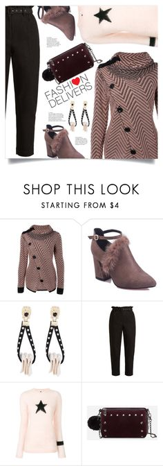 """""""Stay Warm"""" by mahafromkailash ❤ liked on Polyvore featuring Isa Arfen and Bella Freud"""
