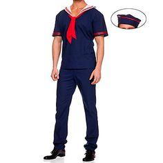 Στολή Sailor Dark Blue άνδρες κοστούμι του (3 τεμάχια) – EUR € 27.26