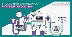 Do you create a lot of content? Lilach Bullock shares 5 useful tools that will you write better, more compelling content - more easily.