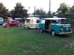 Cool Graziella Levante 300 and VW T2