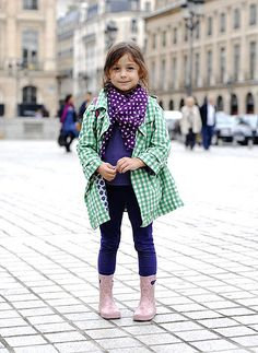 Kids Street Style Fashion Trend