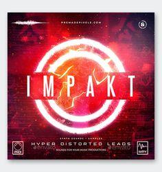 Impakt Album Cover Template PSD
