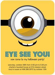 Aye I Eye Halloween Party Invitations Halloween Party Invitations, Tiny Prints, Spooky Halloween, Rsvp, Eye, Scary Halloween, Halloween