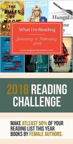 Jan Feb 2018 reading challenge
