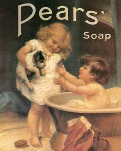 Pears Soap http://www.enjoyart.com/single_posters/other_beauty_fashion/pears_soap_bathing.htm