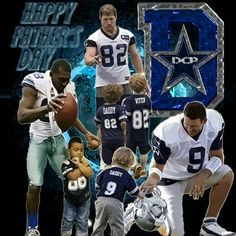 Happy Fathers Day Cowboys Nation