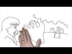 La noche de brujas is a short video/illustrated story that first year Spanish students can easily grasp. Some of the vocabulary used: El esqueleto, la bruja, el fantasma, el disfraz, la calabaza, los dulces, tiene miedo, grita...