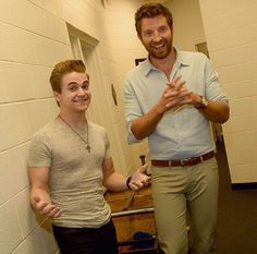Hunter & Brett  Someone help me. I can't handle this