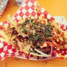 Kimchi Fries from Chi'lantro in Austin, Texas   23 French Fries You Need To Eat Before You Die