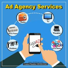 Top & Best Advertising Agency in Hyderabad Offers Newspaper Advertising Services, Radio Advertising Services, TV Advertising Services, Socialmedia Advertising Services, Cinema Advertising Services in Various Languages. Radio Advertising, Advertising Industry, Advertising Services, Marketing Poster, Marketing Branding, Digital Marketing, Newspaper Advertisement, Tv On The Radio, Theatre