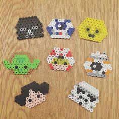Tsum Tsum Star Wars perler beads by nicomamarin